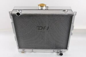 Fit 3 Rows Aluminum Radiator Dodge Challenger Charger Coronet 1970 1973 22 Core