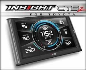 Edge Products Insight Cts2 Performance Monitor For Toyota Gas 84131
