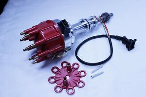 Ford Windsor 351w Ready To Run Ignition Distributor W Small Red Cap