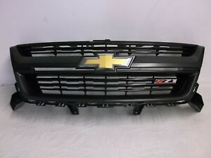 Oem 2015 2016 2017 2018 Chevrolet Chevy Colorado Z71 Black Front Grille