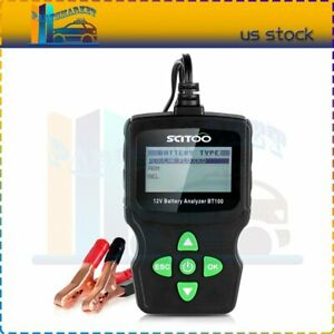 High Quality 6v 18v Lcd Vehicle Digital Battery Test Analyzer Diagnostic Tool