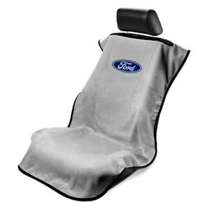 Seat Armour Sa100forg Gray Towel Seat Cover W Ford Logo