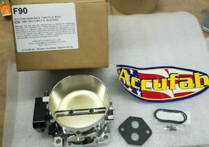86 93 Mustang 5 0 Accufab 90mm Race Throttle Body 302 Fox Turbo Supercharger F90