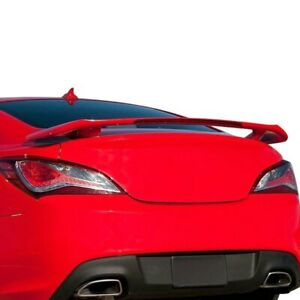 For Hyundai Genesis Coupe 10 16 Factory Style Rear Spoiler W Light Unpainted
