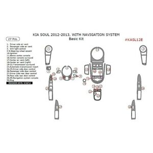 For Kia Soul 2012 2013 Remin Kasl12e Rcf Real Carbon Fiber Basic Dash Kit 27 Pcs