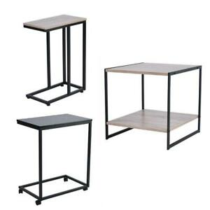 3 Style Small End Table Side Chair Narrow Living Room Wood Accent Sofa Shelf New