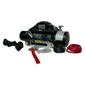 Engo 97 10000s 10 000 Lbs Sr series Electric Winch W Synthetic Rope