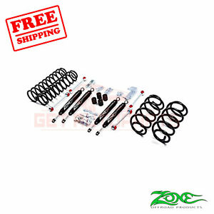Zone Offroad 3 Lift Kit For Jeep Wrangler Tj 2003 2006 4wd Gas Nitro Shocks
