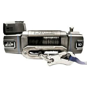 Superwinch S102740 10 000 Lbs Exp Series Electric Winch W Hawse Fairlead