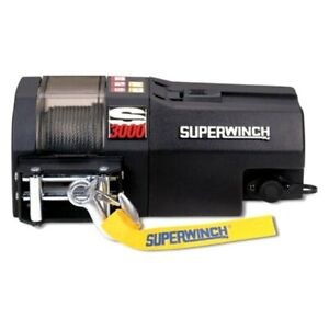 Superwinch S104118 3 000 Lbs S Series Electric Winch W Steel Cable
