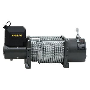 Pierce 20 000 Lbs Ps Series Self Recovery Electric Winch W Steel Cable