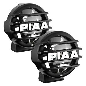 Piaa 05672 Lp 560 Sae 6 2x14w Round Driving Beam Led Lights