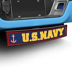 Fanmats 21821 Military Light Up Hitch Cover W U s Navy Logo For 2 Receivers