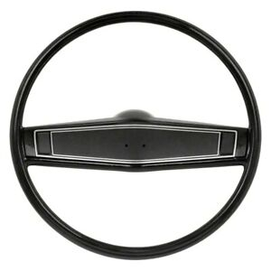 For Chevy Camaro 69 Oer R3492 2 spoke Steering Wheel Kit W Black Grip