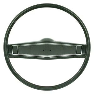 For Chevy Camaro 69 Oer 2 spoke Steering Wheel Kit W Dark Green Grip