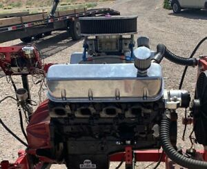 540 Cubic Inch Big Block Chevy Engine 5 Hrs Use 725 Hp