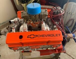 Chevy 427 Stroker 575 Hp Engine Afr 195 Cnc Heads 10 6 1