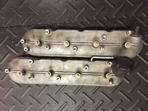 Used Both Engine Valve Covers With Bolts 2007 Corvette Ls1 ls2