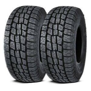 2 Lexani Terrain Beast At Lt235 75r15 110 107s All Season All Terrain M S Tires