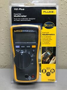 Fluke 110 Plus Essential Multimeter 772343 new