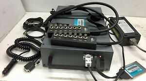 Oros Or25 Pc pack Real Time Signal Analyzer With Probes And Power Adaptor