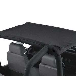 For Jeep Wrangler 1987 1991 Rampage 90801 Black California Brief Top