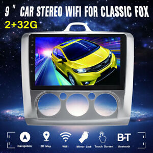9 Android 8 1 Car Stereo Radio Gps Navigation Wifi 2g 32g For Fox Classic