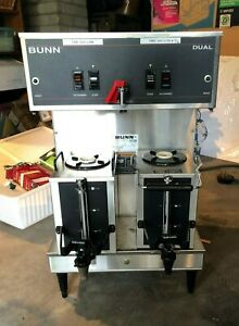 Bunn Dual Brewer With Portable Servers 120 208v 30 Amp 120 208v Seattle Only
