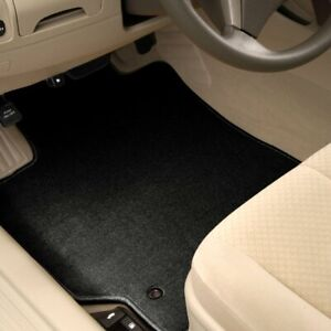 For Mitsubishi Sigma 89 90 1st Row Black Carpeted Floor Mats