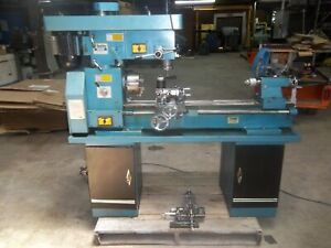 Smithy Cb 1239 Cb1239 Lathe Mill Combo grizzly G4791 Single Phase