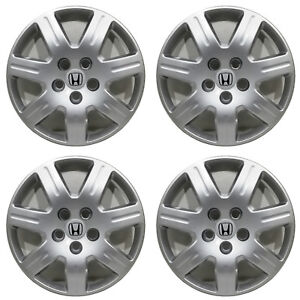 4 2007 Honda Civic 16 Replacement Hubcaps Wheel Covers With Ship To Hi