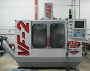 Haas Vf 2 Cnc Vertical Machining Center 1998 Vf2 Very Clean 10 000 Rpm Tooling