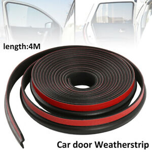 4m 160 Z Shape Window Door Rubber Seal Strip Hollow Weatherstrip Car Universal