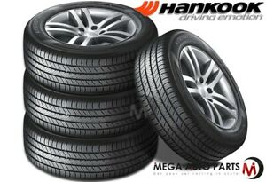 4 Hankook H735 Kinergy St 185 70r14 88t M S All Season Touring Traction Tires