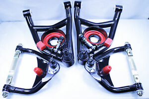 64 72 Gm A Body Gto Heavy Duty Tubular Upper Lower Control Arms Chevelle