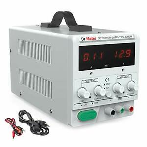 Dr meter 30v 5a Dc Bench Power Supply Single output 110v 220v Switchable