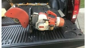 Stihl Ts 350 Concrete Cut off Saw Gas powered Runs Very Strong