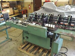 Bell Howell 6 Sta Mail inserter A340