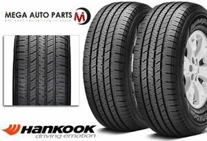 2 Hankook Dynapro Ht Rh12 P265 70r16 111t Owl All Season Sport Performance Tires