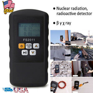 Fs2011 Smart Geiger Counter Y Xray Radiation Detector Nuclear Monitor Meter