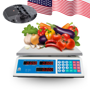 Digital Weight Scale Price Computing Food Vegetable Scale Count Kitchenequipment