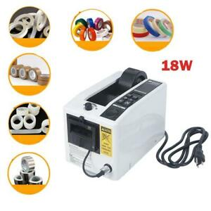 18w Automatic Auto Tape Dispensers Electric Adhesive Tape Cutter Machine 110v