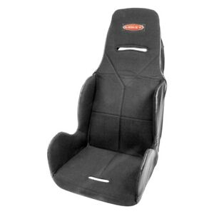 15 5 16 Series Economy 20 Degree Layback Drag Racing Seat Cover Cloth Black