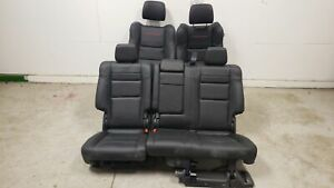 2018 Jeep Grand Cherokee Trailhawk Seats Front Rear Left Right Black Leather Oem