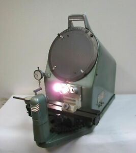 10 Apex Model 1000s 20x Bench Top Optical Comparator Lense 20x