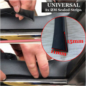 Universal Car Door Window Trims Edge Moulding Rubber Weatherstrip Seal Strip Au