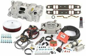 Msd Ignition 2900k Small Block Chevy Intake Efi Kit Max 525 Hp Includes Atomi