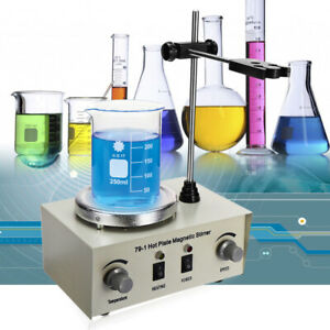 79 1 Hot Plate Magnetic Stirrer Mixer Hotplate Heating Stirring Dual Control 1l