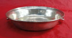 Vintage Sterling Silver Shallow Bowl Handles 235 Grams Serving Dish Missing Lid