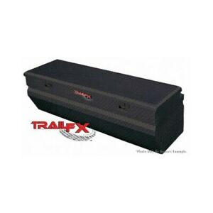 Trail Fx 150482 Black Truck Chest Universal Tool Box